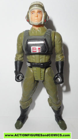 star wars action figures A-WING PILOT power of the force potf 1997