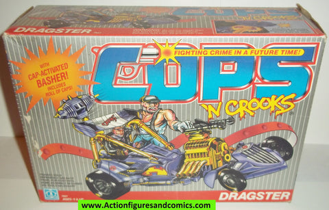 Cops 'n Crooks DRAGSTER 1988 complete with box mib hasbro c.o.p.s. vehicle