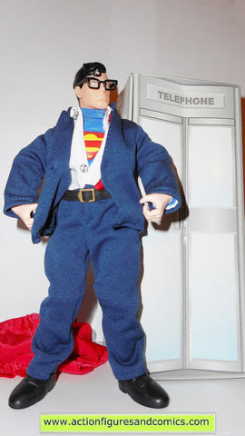 DC universe super heroes SUPERMAN CLARK KENT 9 inch mego retro hasbro toys action figures