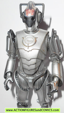 doctor who action figures CYBERMEN cyber men leader NEXT dr underground toys