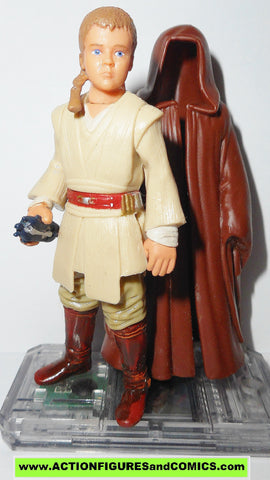 star wars action figures ANAKIN SKYWALKER naboo 1999 episode I 1 complete hasbro toys