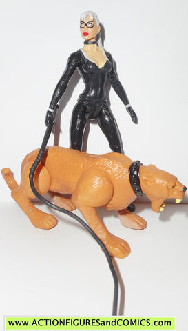 spider-man 3 BLACK CAT leaping cougar 2006 movie action figure