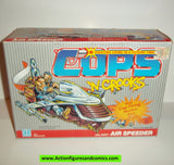 Cops 'n Crooks AIR SPEEDER 1988 complete with box mib hasbro c.o.p.s. vehicle