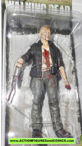 The Walking Dead MERLE DIXON ZOMBIE mcfarlane toys moc action figures