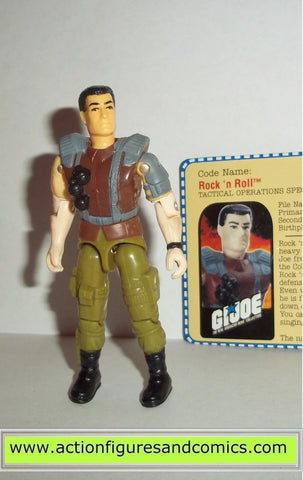 gi joe FLINT ROCK N ROLL 2000 v6 ARAH flint headquarters operator Complete fc