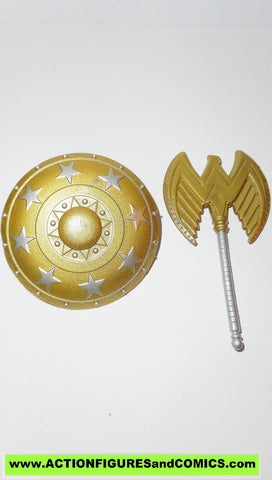 dc universe classics WONDER WOMAN AXE SHIELD wave 4 despero series