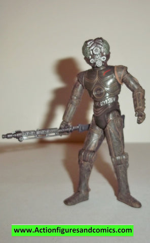star wars action figures 4-LOM bounty hunter 2006 30th anniversary