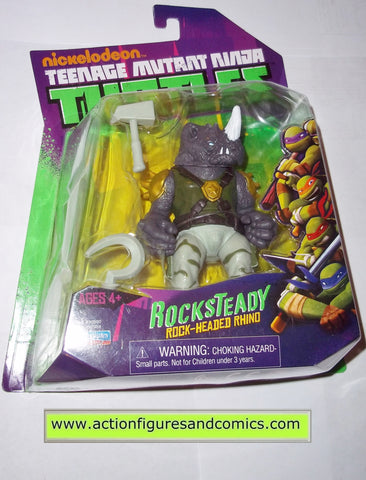 teenage mutant ninja turtles ROCKSTEADY RHINO Nickelodeon playmates toys mib moc mip tmnt