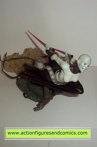 star wars action figures Unleashed ASAJJ VENTRESS complete kenner hasbro toys