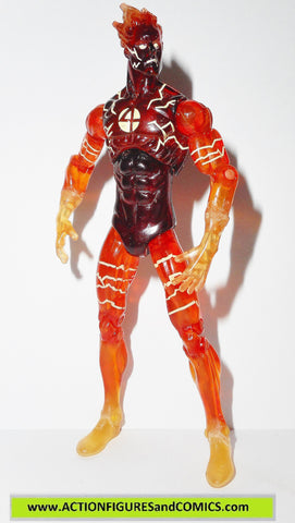 marvel universe HUMAN TORCH 7 flame on nova variant action figures