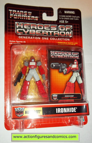 Transformers pvc IRONHIDE heroes of cybertron hoc hasbro toys action figures moc mip mib