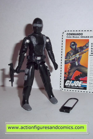 gi joe SNAKE EYES 1997 v7 toys r us tru hasbro toys action figures