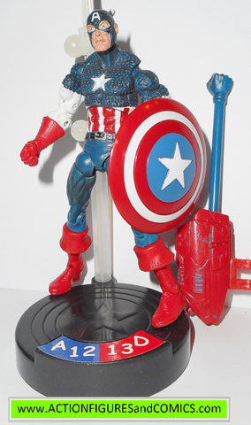 marvel universe CAPTAIN AMERICA legends showdown 2005 action figures