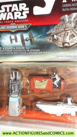 star wars micromachines JAKKU LANDSPEEDER REY's SPEEDER force awakens