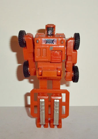 gobots SPOONS full orange complete vintage 1984 convertable robots