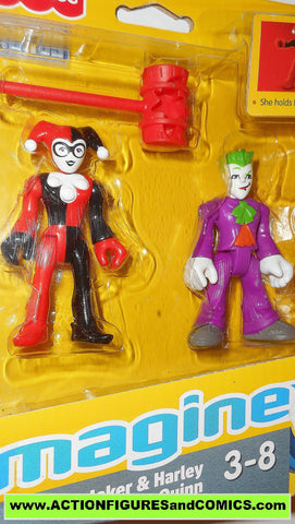 DC imaginext HARLEY QUINN JOKER batman justice league universe moc