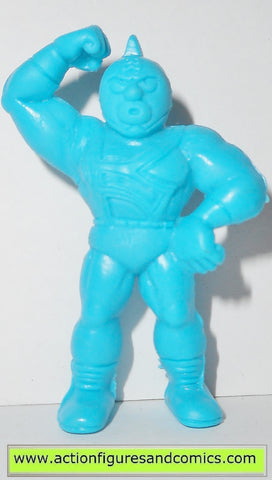 Muscle m.u.s.c.l.e men KINNIKUMAN J 222 1985 LIGHT BLUE mattel toys action figures
