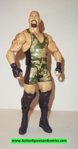 Wrestling WWE action figures BIG SHOW camo basic series 25 mattel