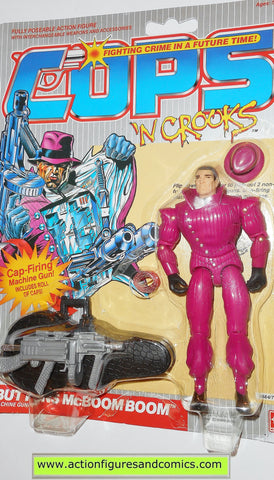 Cops 'n Crooks BUTTONS McBOOM BOOM c.o.p.s. hasbro toys 1988 vintage action figures moc