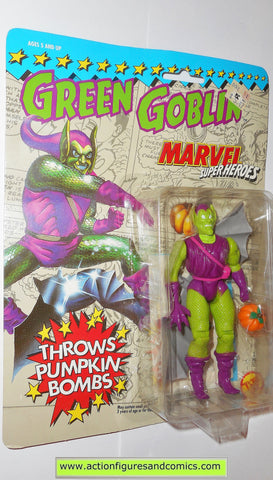 marvel super heroes toy biz GREEN GOBLIN spider-man action figures universe moc 000