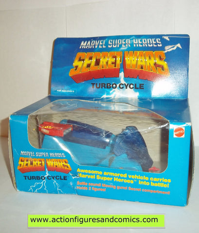 secret wars TURBO CYCLE 1984 marvel super heroes mib moc mip