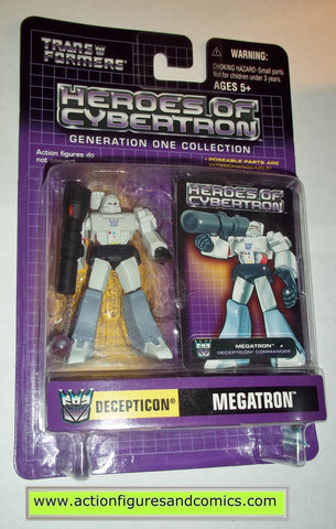 Transformers pvc MEGATRON MACE heroes of cybertron hoc hasbro toys action figures moc mip mib