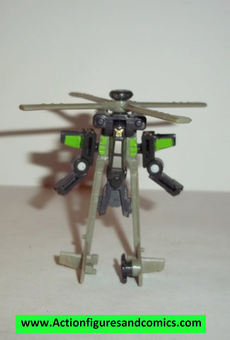 Transformers classics CROSSHAIRS minicon complete universe 25th minicons helicopter