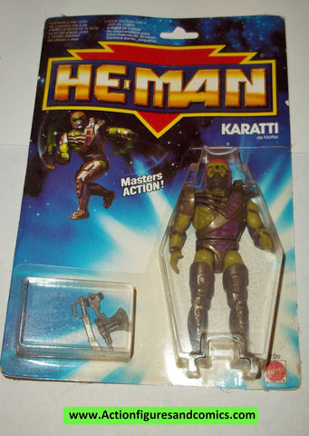 Masters of the Universe KARATTI karate 1990 moc mip mosc he-man new adventures vintage mattel action figure