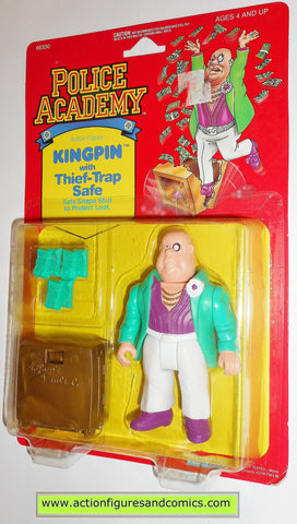 Police academy action figures KINGPIN 1988 moc kenner toys