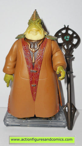 star wars action figures BOSS NASS 1999 episode I 1 complete hasbro toys