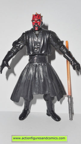star wars action figures DARTH MAUL FINAL DUEL power of the jedi