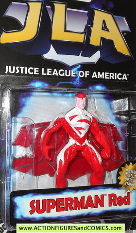 Total Justice JLA SUPERMAN RED 1999 1998 justice league america dc moc
