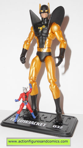 marvel universe YELLOWJACKET & ANT MAN series 2 032 complete hasbro