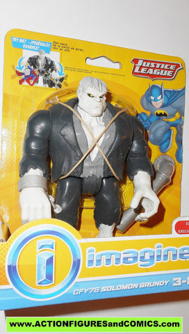 DC imaginext SOLOMON GRUNDY justice league super friends universe fisher price moc