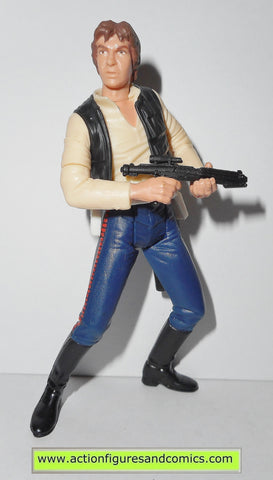 star wars action figures HAN SOLO DEATH STAR ESCAPE power of the jedi