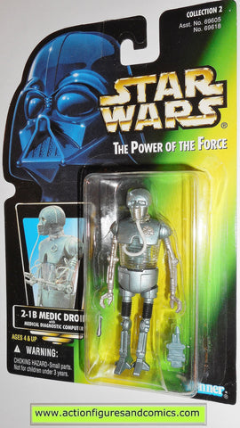 star wars action figures 2-1B medic droid 00 PHOTO power of the force action figure