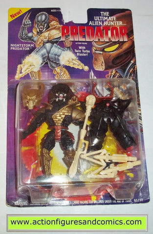 aliens vs predator kenner NIGHTSTORM PREDATOR 1994 movie moc mip mib action figures toys #p101