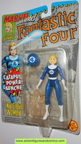 marvel super heroes toy biz INVISIBLE WOMAN fantastic four 1992 action figures moc