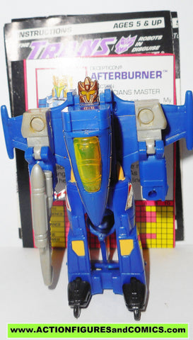Transformers Generation 2 AFTERBURNER g2 complete jet plane