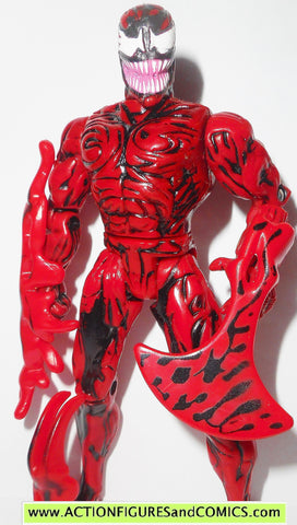 Spider-man the Animated series CARNAGE 1994 toy biz action figure complete