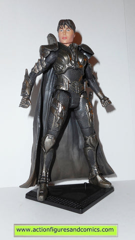 dc universe classics FAORA KRYPTONIAN ARMOR superman man of steel movie masters