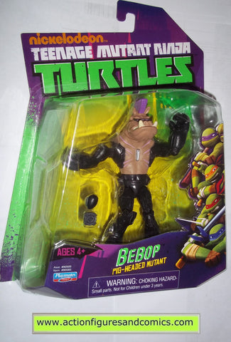 teenage mutant ninja turtles BEBOP pig 2014 Nickelodeon playmates toys mib moc mip tmnt