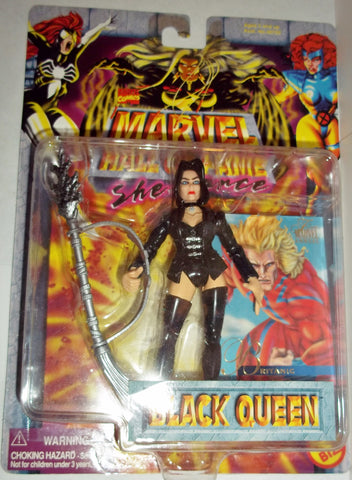 MARVEL hall of fame 1996 BLACK QUEEN new moc universe toy biz