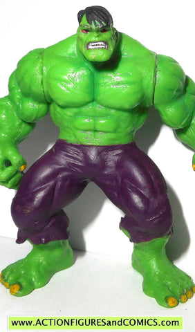 Marvel Heroes HULK 2 5 inch miniature poseable action figures 2005 toy biz  universe