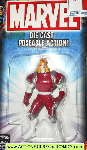 Marvel die cast OMEGA RED poseable action figure 2002 toybiz x-men universe moc