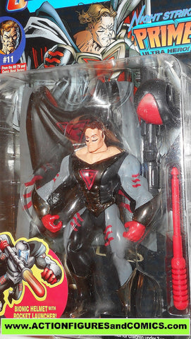 Ultraforce PRIME night strike 1995 chase black chrome card #11 galoob action figures moc mib mip