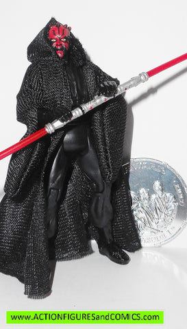 star wars action figures DARTH MAUL coin 3Oth anniversary 2007 toys