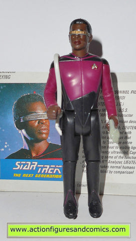Star Trek GEORDI LAFORGE 1988 galoob toys action figures tng