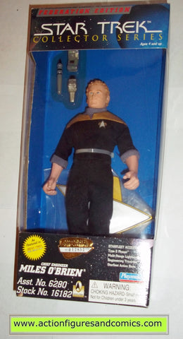 miles o'brien star trek deep space nine ds9 playmates toys