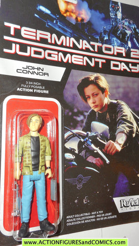 Reaction figures Terminator JOHN CONNOR judgment day 2 movie action moc
